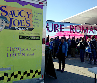 Food Truck Corporate Event Catering Detroit | Saucy Joe's Italian - attract