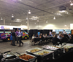 Food Truck Corporate Event Catering Detroit | Saucy Joe's Italian - indoorcater