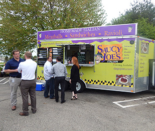 Food Truck Office Party Catering Detroit | Saucy Joe's Italian - vendor